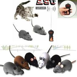 Pet Cat Dog Remote Control Toys Fake Mice Mouse Prank Rat Mo