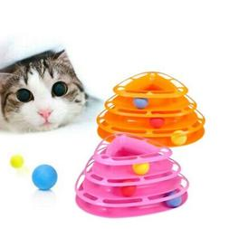 Pet Cat Interactive Crazy Toy Ball Motion Disk Amusement Pla