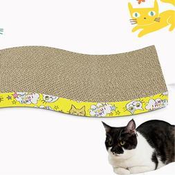 Pet Cat Kitten Corrugated Scratch Board Pad Scratcher Bed Ma