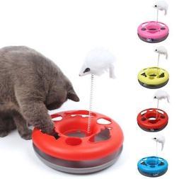 Pet Cat Kitten Motion Moving Mouse Fun Play Interactive Trai