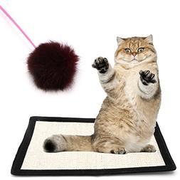 Amrka Pet Cat Kitten Scratching Pad Mat Board Sisal Scratche