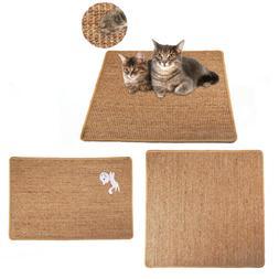 Pet Cat  Kitten Scratching Sisal Mat Cat Scratching Mat Hemp