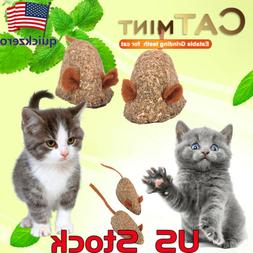 Pet Cat Natural Catnip Treat Ball Home Chasing Toys Healthy