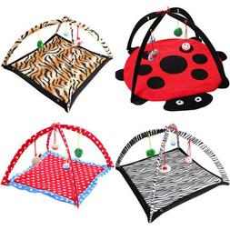 pet cat play bed activity tent playing