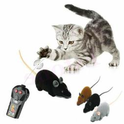 Pet Cat Puppy Toy Wireless Remote Control RC Electronic Rat