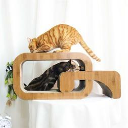 Pet Cat Scratcher Luxury Nesting Bed Kitty Scratching Board
