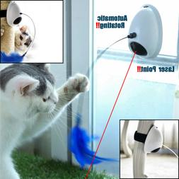 Pet Cat Toy Teaser Automatic Rotating Laser Electronic Inter