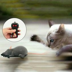 Pet Cat Toy Wireless Remote Control Mouse Electronic RC Rat