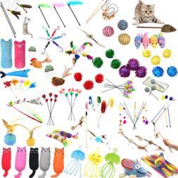 Pet Cat Toys Bulk Mice Balls Pet Kitty Kitten Play Squeaky S