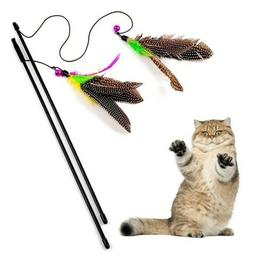 pet cat toys cute nature feather funny