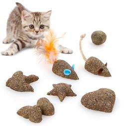 Pet Cat Toys Natural Catnip Healthy Funny Treats Mouse shape