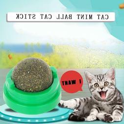 Pet Cat Toys Natural Catnip Healthy Funny Treats Toy Ball Fo