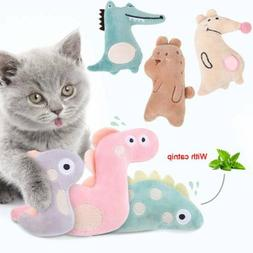 Pet Cat Toys Soft Plush Tunnel Catnip Kitten Interactive Pla