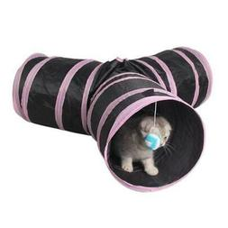 Pet Cat Tunnel Foldabe Indoor Outdoor Pet Cats Training Toys