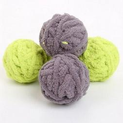 Pet Cat Wool Yarns Ball Toys Kitten Scratch Chew Bbite Inter