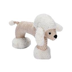 Agordo Pet Chew Toy Cartoon Sheep Dog Squeaky Teething Toy P