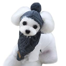 Alfie Pet by Petoga Couture - Bryn Winter Scarf and Hat Set