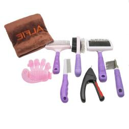 Alfie Pet by Petoga Couture - 7-piece Home Grooming Kit with