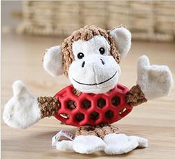 Pet Dog Plush Toy Sound Squeaky Chew Puppy Play Dog Cat Toy