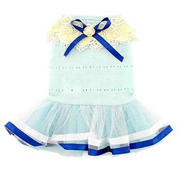 SMALLLEE_LUCKY_STORE Pet Small Dog Puppy Cat Clothes Coat Co
