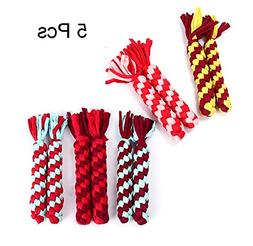 Zero Pet Dog Rope Toys Cotton Rope Toys Set 5 PCS Of Puppy P