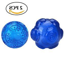 Mogoko Pet Dog Squeaky Fetch Ball Toys,Puppy Bite Resistant