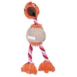 CHOUWUED Pet Dog Toys Bird Duck Shape Plush Puppy Cat Squeak