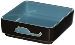 Ethical Pet Products  DSO6931 Stoneware 4-Square Cat Dish, 5