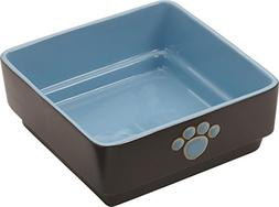 Ethical Pet Products  DSO6933 Stoneware 4-Square Dog Dish, 7