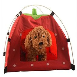Zero Pet House Folding Cat Tent Portable For Small Dog Cats