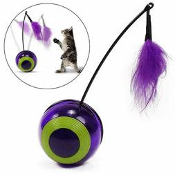 Pet Interactive Electric Training cat Toy Rotating Toy Tumbl