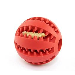 Pet Interactive IQ Treat Toy Ball Food Dispensing Ball for D