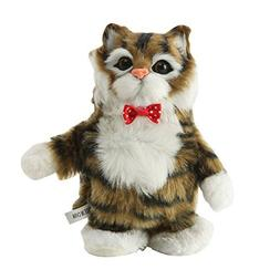 Pet Interactive Talking Cat Plush Toy - Cute Cat Imitating M