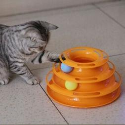 Pet Interactive Toys Cat Turntable Pet Intellectual Track To