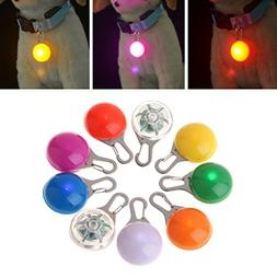 GMSP Pet Pendant Safety LED Flash Light Glow Collar Puppy Do