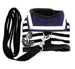 SMALLLEE_LUCKY_STORE Pet Clothes for pets Striped Sailor Ves