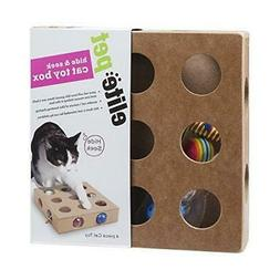 : Pet Products, Cat Toy Box For Kitty, Kitten, Interactive I