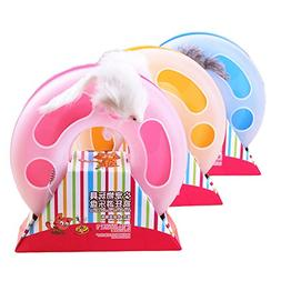 Wildgirl Pet Puppy Cat Interactive Toys with Mouse and Bell