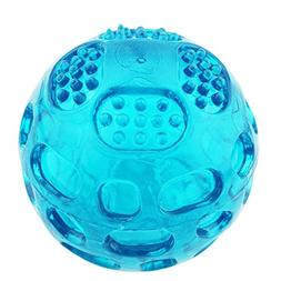 Aduck Pet Puppy Dog Squeaky Fetch Ball Toys  Bite Resistant