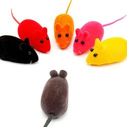 Wildgirl Pet Puppy Multicolor Lifelike Sound Rat Cat Toys