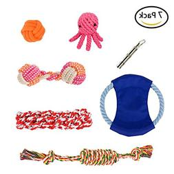 Pet Rope Toys , Dog Toy for Large & Medium & Small Dogs - In