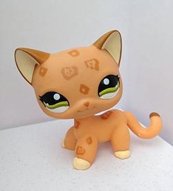 DEEJOE Pet Shop Green Eyes Brown Orange Short Hair Cat Kitty