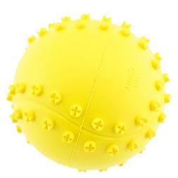 Pet Toy Ball for Dogs,Bite Resistant Natural Rubber squeaky