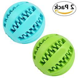 UYIKU Pet Toy Balls Dog Chew Durable Dog Treat Balls Indestr