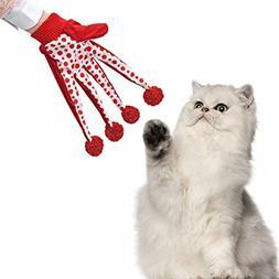 PAWZ Road Pet Toy Cat Teaser Kitten Scratcher Cat Glove Inte