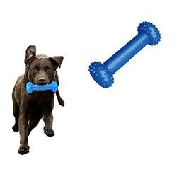 Yunt Pet Toy Freezer Dumbbell-shaped Dog Treat and Cooling C