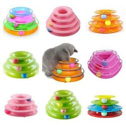 Pet Toys Cat Crazy Ball Disk Interactive