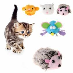 Pet Toys Plush Simulated Animal Pulling Tail Shake Interacti