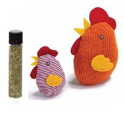 Petlinks Knit Nipper Cat Toy-Chicken & Chick