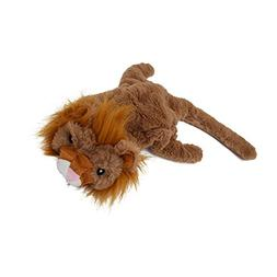 Hydex Pets Puppy Squeaky Plush Dog Toys-Lion Skinneeez No St